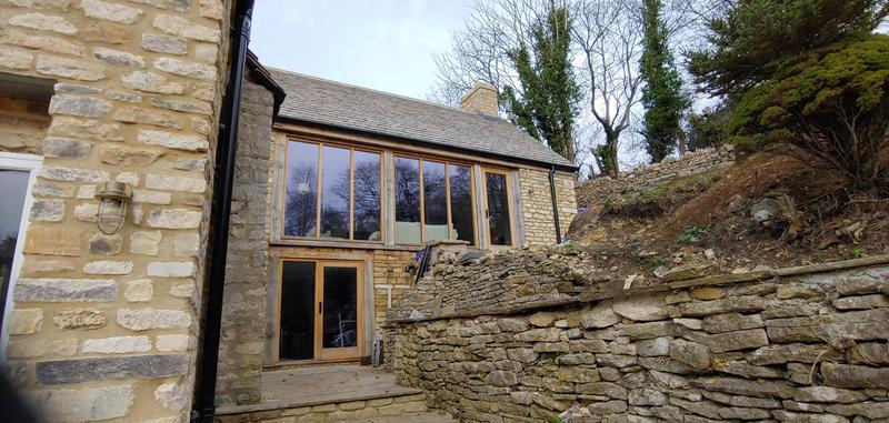 Image 15 - Stone & oak rear extension.