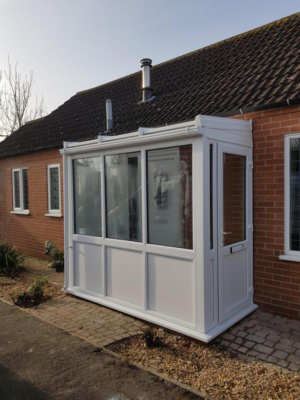 Image 33 - Front porch installed in Langar.