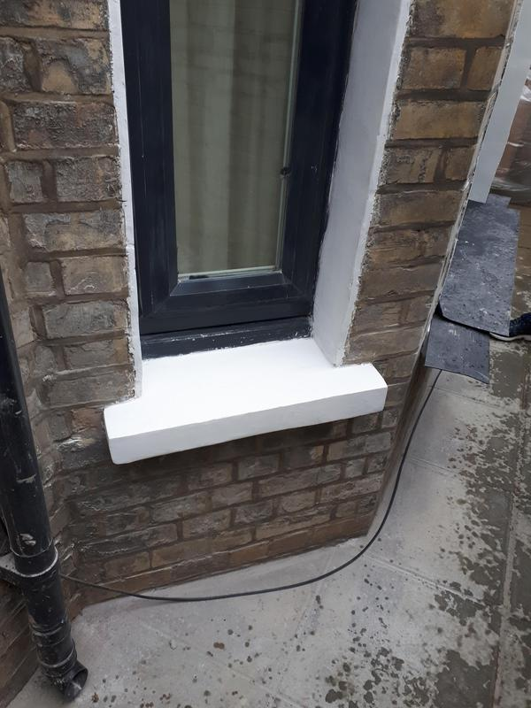 Image 62 - Exterior decoration and repair of three window sills and the surrounds. All three were in bad shape. Had to fill, mould, sand and re paint to get the desired finish. Client was very happy with the work carried out.