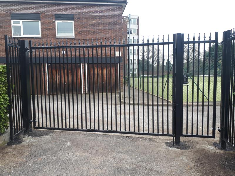 Image 218 - Pedestrian Gate with High Security Driveway Gates