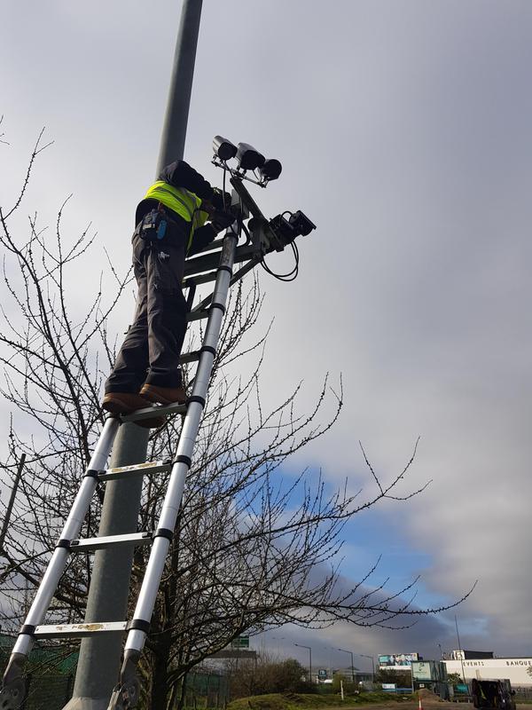 Image 16 - CCTV installation