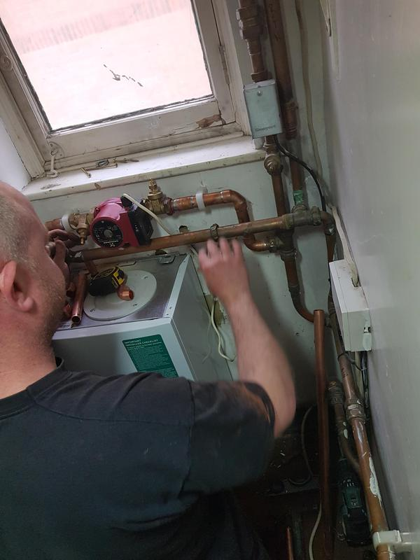Image 14 - Fitting new heat only boiler