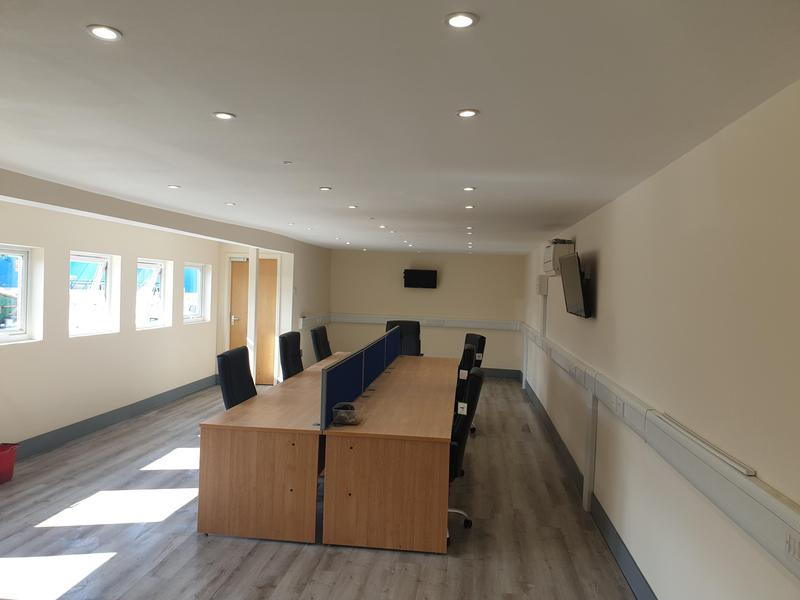 Image 124 - This is the completed picture of a office refurb and the difference is amazing