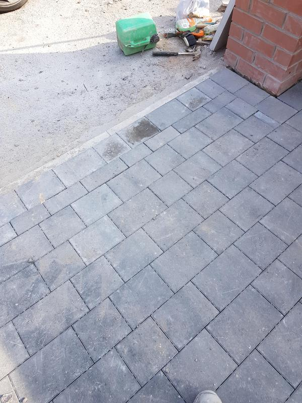 Image 24 - Charcoal block paving