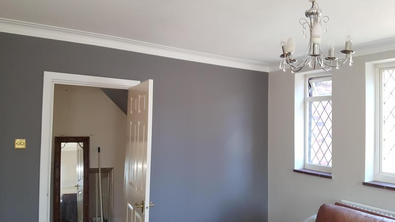 Image 25 - New plastered lounge in Newcastle