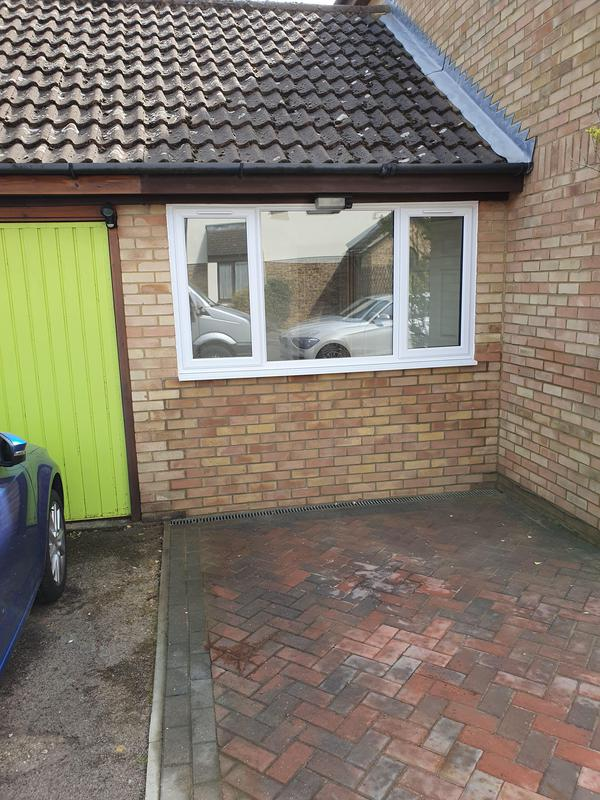 Image 24 - Garage conversion in Stevenage to create a down stairs bedroom with an en suite