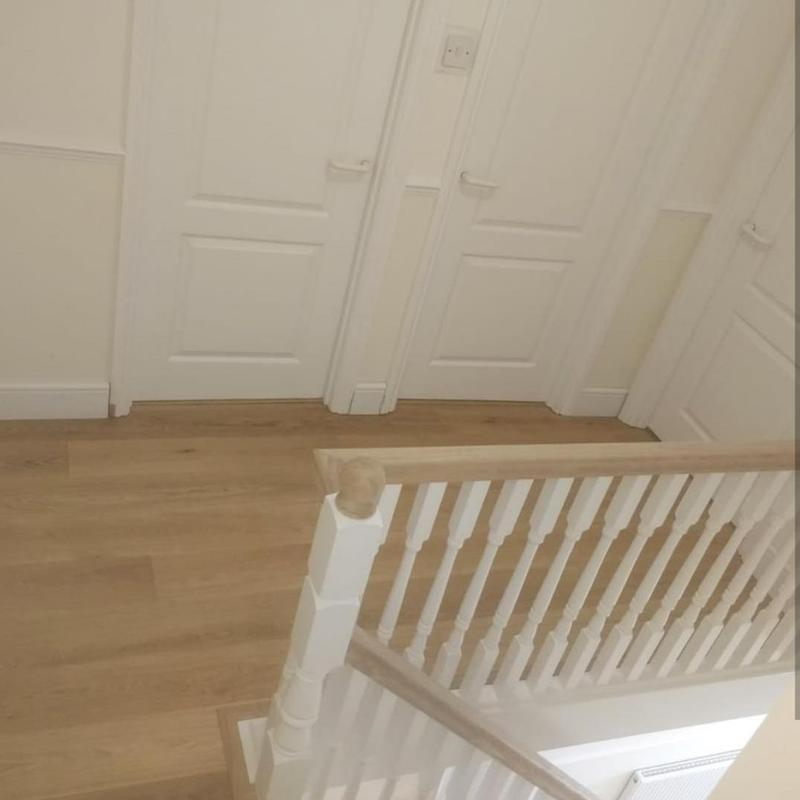 Image 23 - New staircase  and oak flooring fitted