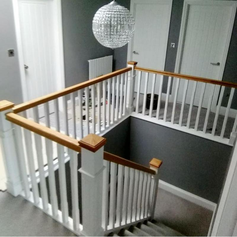 Image 17 - New doors/skirting/ architraves and brand new staircase with Oak handrail and spindles