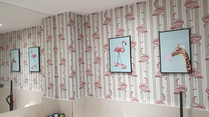 Image 3 - Wallpapering