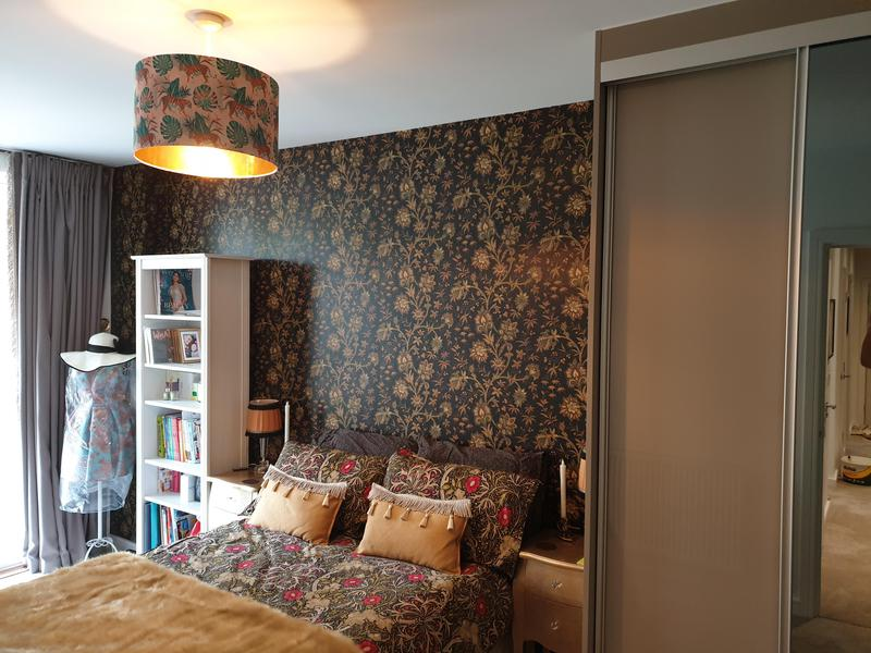 Image 5 - Wallpapering