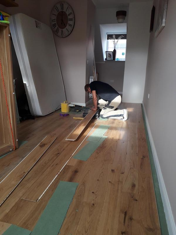 Image 94 - Flooring on loft