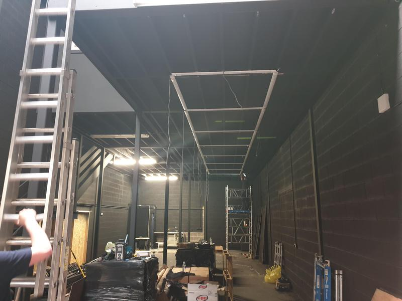 Image 3 - Steel Habitat lighting in progress *1