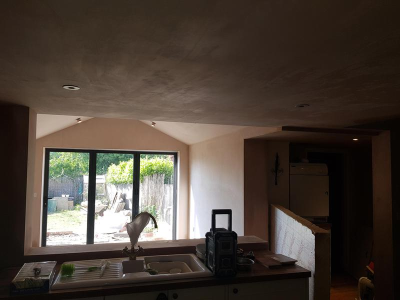 Image 2 - Cottage extension with structural opening from existing kitchen into new build Sellindge