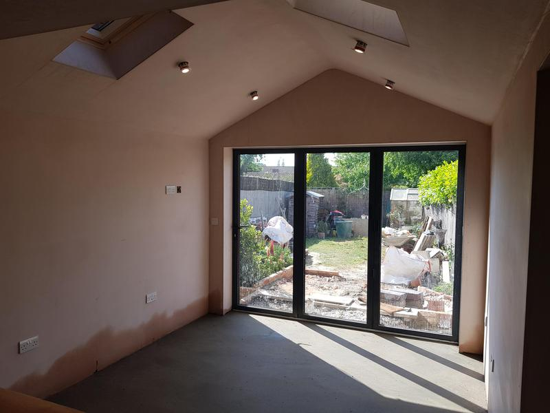 Image 5 - Cottage extension with structural opening from existing kitchen into new build Sellindge