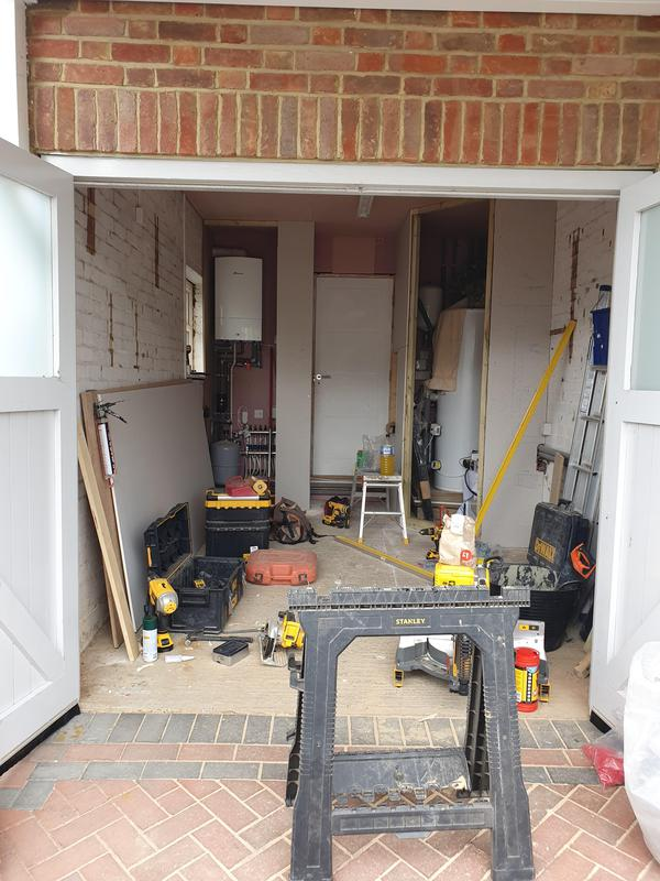 Image 25 - Garage conversion into a gym in St Albans