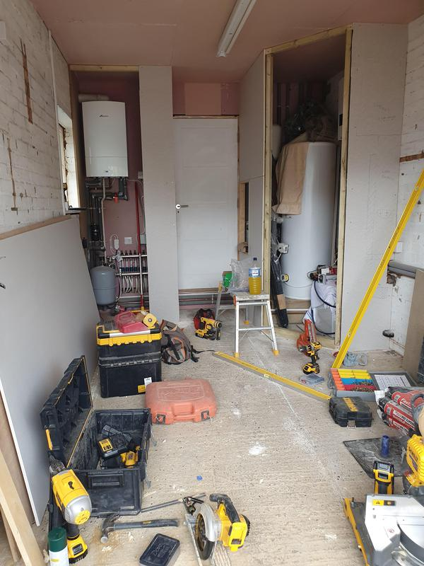 Image 26 - Garage conversion into a gym in St Albans