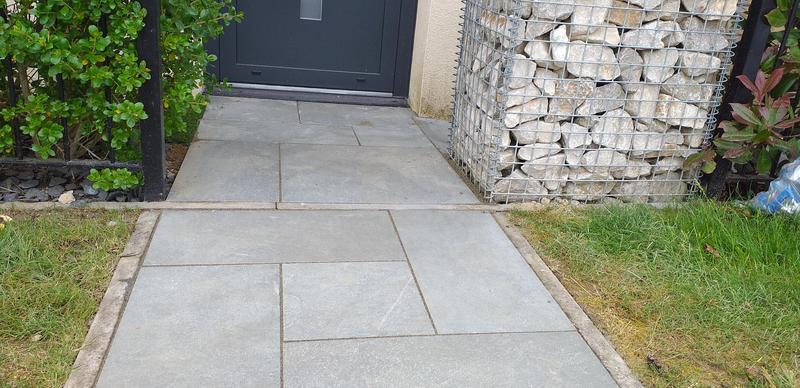 Image 2 - Nice porcelain patio & pathways our team carried out tatenhoe for your local company please visit our website