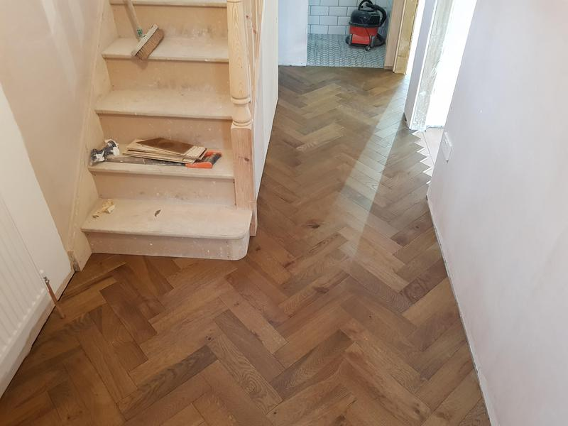 Image 24 - Supplied and fitted engineered parquet