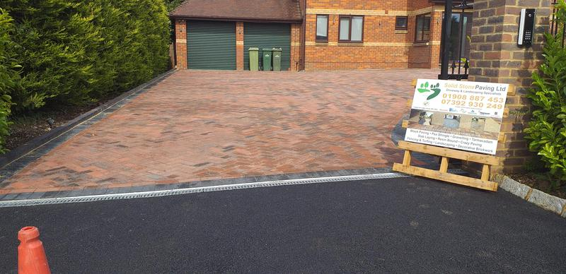 Image 3 - Another stunning driveway completed by our team waughton on the green layed in 45 degree charcoal edging with brindle brilliant contrast & tarmac entrance please visit website for your local company