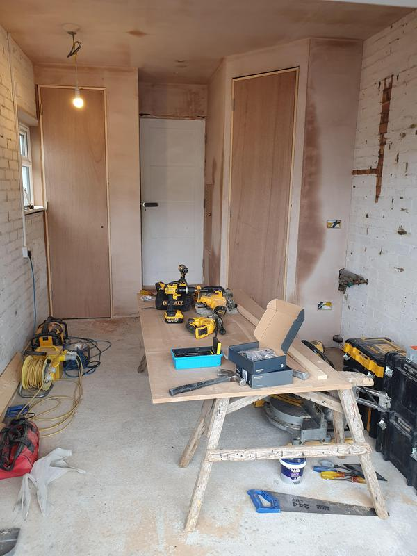 Image 27 - Garage conversion into a gym in St Albans