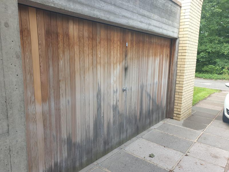 Image 5 - Grade 2 listed house. Garage door requiring attention