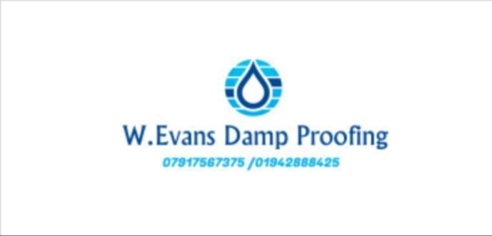 W Evans Damp Proofing & Plastering logo