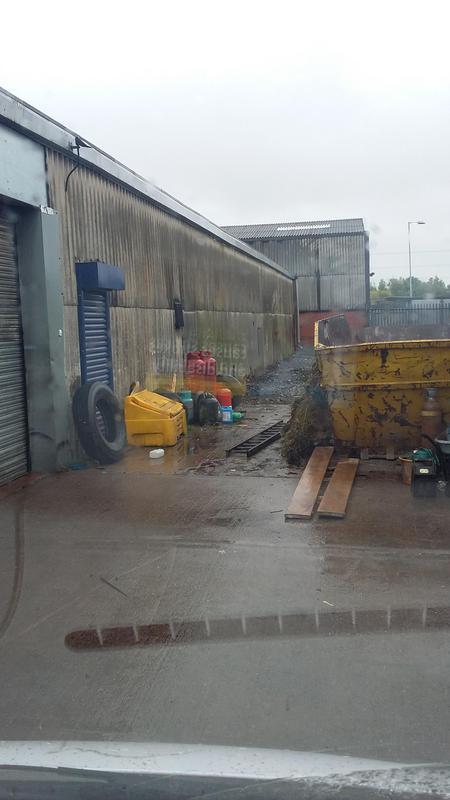 Image 2 - Industrial unit with Asbestos sheeted sides....