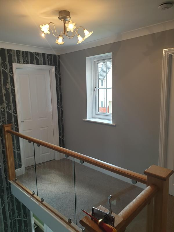 Image 31 - LOVELY HALL,STAIRS AND LANDING IN TIPTREE,ESSEX