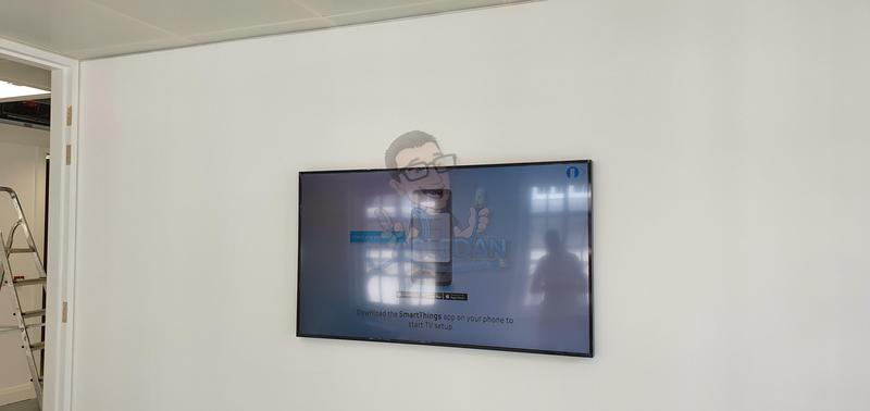 Image 1 - Frame 65 mounted in Meeting room