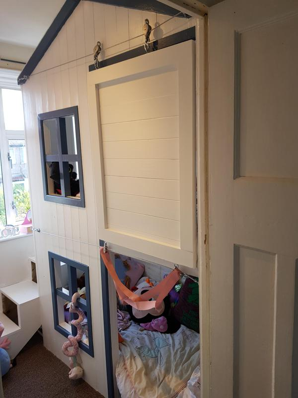 Image 25 - Unusual barn style bunk bed for two children