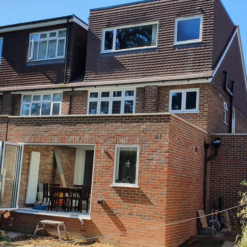 Image 1 - Rear side extension and loft conversion in Guildford