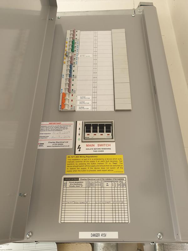 Image 1 - 3 phase install