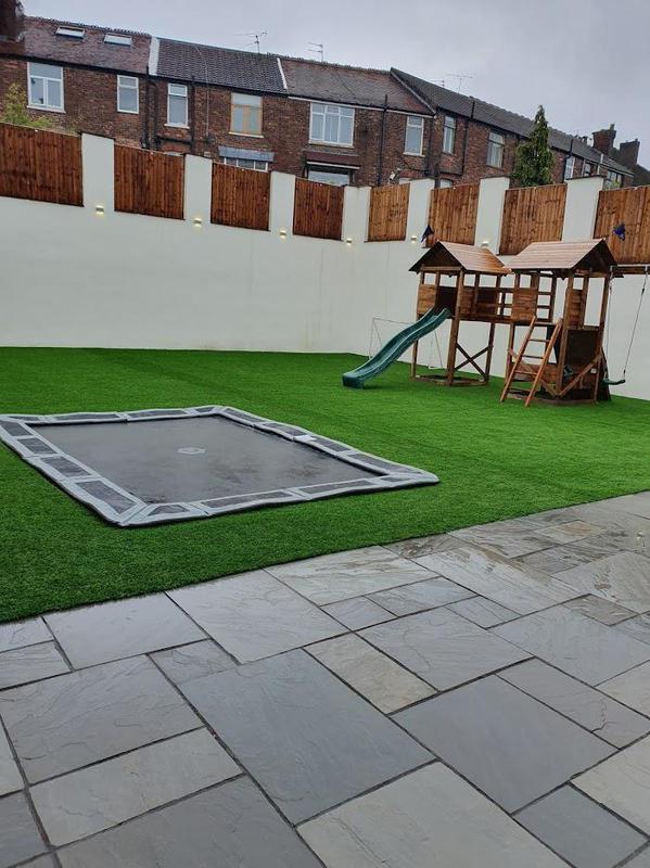 Image 223 - Garden Refurb - Prestwich - Complete