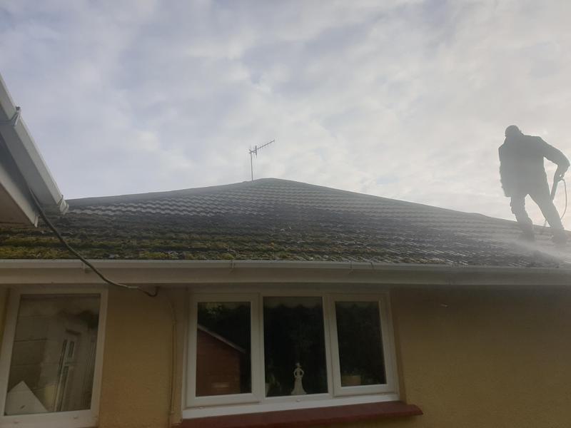 Image 6 - Washing of roof