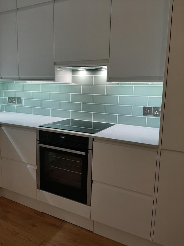Image 66 - Electrical work & tiling
