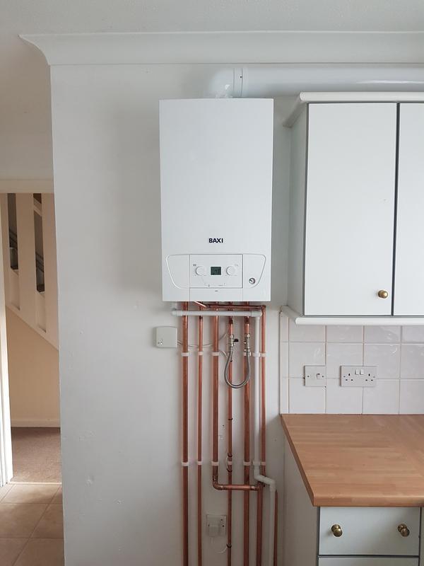 Image 1 - New Boiler Install.