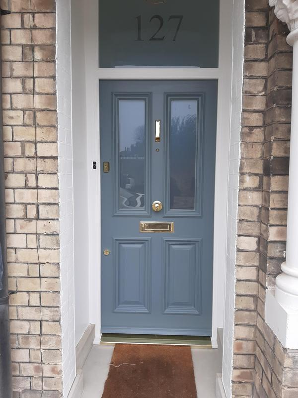 Image 43 - New front doors make and full installation with new frame and full painting work