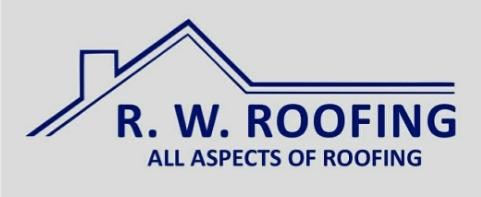 R W Roofing Services logo