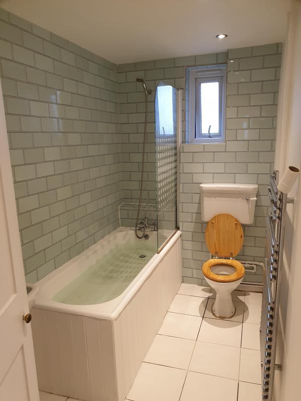 Image 28 - Part bathroom refurbishment, new wall tiles new bath panels, new shower screen