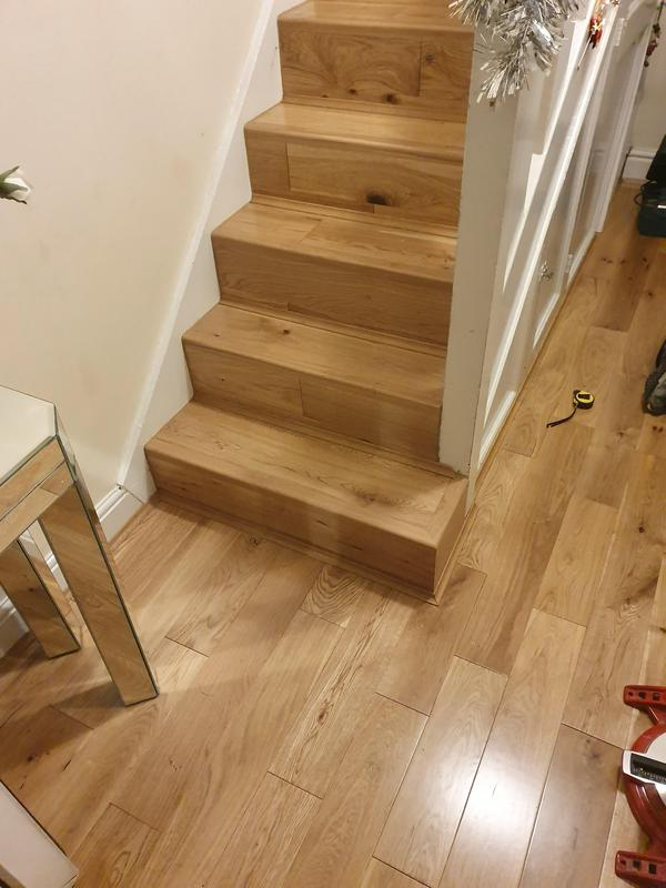 Image 54 - stairs and hallway in solid wood.