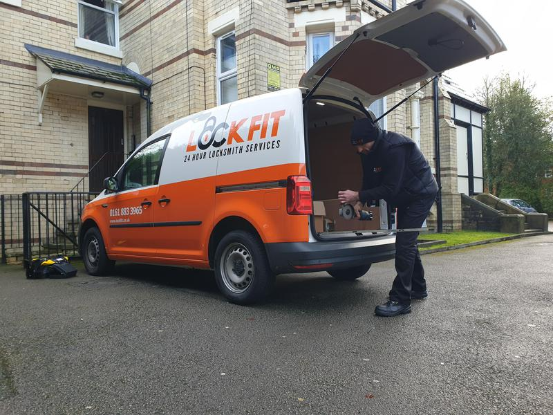 Image 23 - Look out for the orange and white van soon after you call!