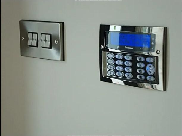 Image 1 - Texecom alarm fitted at a high end residential property.
