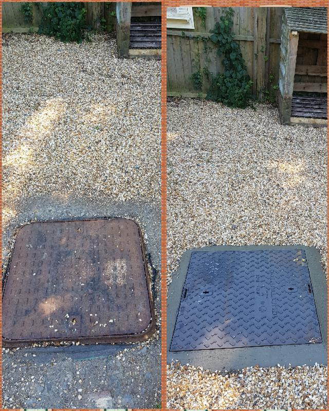 Image 6 - Manhole cover replacement