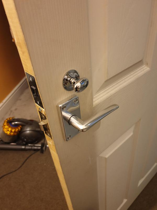 Image 16 - Fresh install of a bathroom door privacy lock