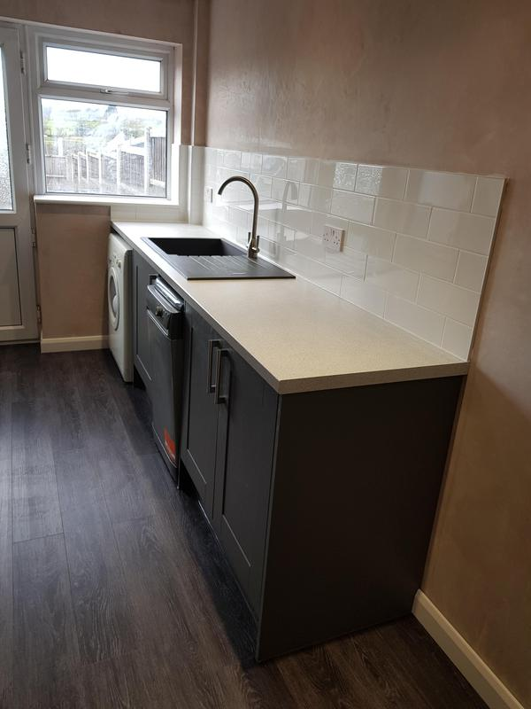 Image 2 - Kitchen in Westwood completed
