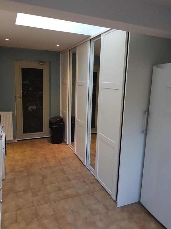 Image 7 - New 5 sliding doors utility storage cupboard
