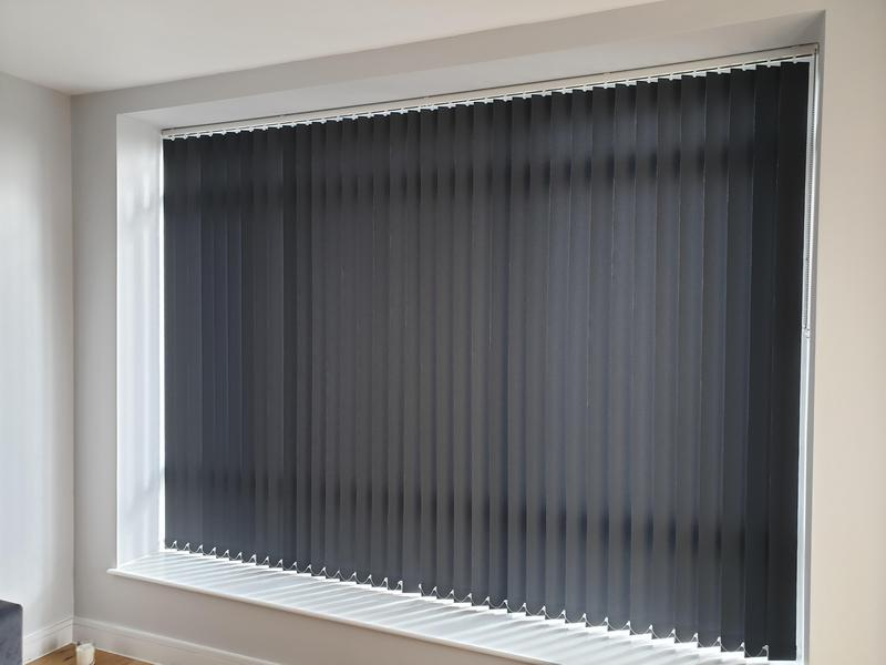 Image 21 - Vertical Blinds fitted for a customer in South-East London.