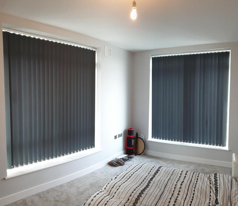Image 22 - Vertical Blinds fitted for a customer in South-East London.