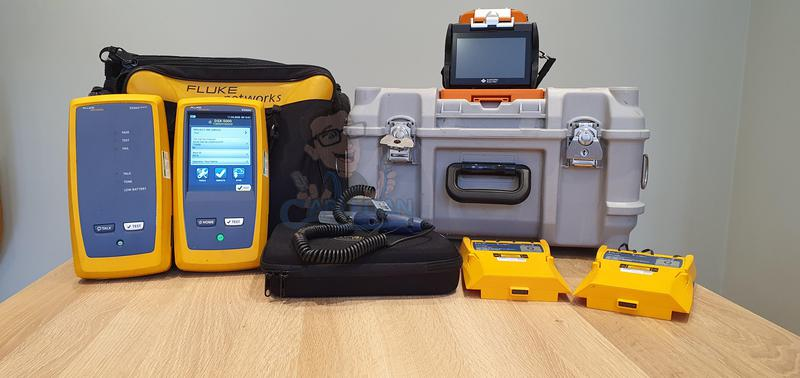 Image 35 - We have invested the Latest Fluke DSX Veriv Tester which enables testing and certification of twisted pair cabling for up to 40 Gigabit Ethernet deployments and will handle any cabling system whether it is a Cat 5e, 6, 6A, 8 or Class FA and I/II