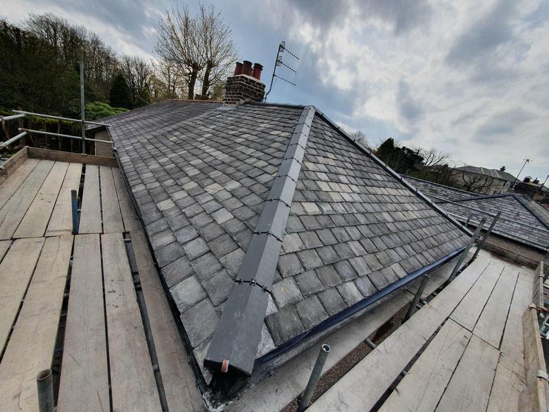 Image 41 - new roof with dry ridge